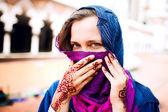 Muslimsk kvinna — Stockfoto