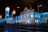 Sultan Abdul Samad Building at night — Stock Photo