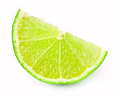 Lime slice — Stock Photo