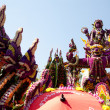 CHIANG MAI, THAILAND - FEBRUARY 4: Floral float in procession on — Stock Photo