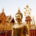 Golden Buddha statue — Stock Photo #9100072