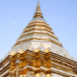 Golden stupa - Stock Photo