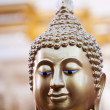 Head of Buddha statue — Foto Stock
