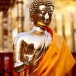 Golden Buddha statue — Stock Photo #9100129