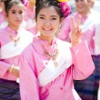 CHIANG MAI, THAILAND - FEBRUARY 4: Traditionally dressed womans — Stock Photo