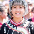 Stock Photo: CHIANG MAI, THAILAND - FEBRUARY 4: Traditionally dressed Mhong h