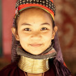 NAI SOI, THAILAND - FEB 3: Nam Piang Din Karen long neck young w — Stock Photo