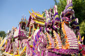 CHIANG MAI, THAILAND - FEBRUARY 4: Traditionally decorated flora — Stock Photo