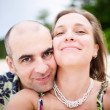 Happy Smiling Couple - Stock Photo