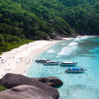 Similan Island 4 Bay - Stock Photo