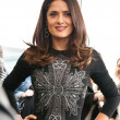 "Stock Photo: MOSCOW - July 16: SalmHayek arriving at ""Puss In Boots"" P"