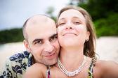 Happy Smiling Couple — Stock Photo
