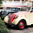 HUA HIN - DECEMBER 19: Cars on Vintage Car Parade 2009 at Sofite — Stock Photo