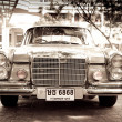 HUHIN - DECEMBER 19: Mercedes on Vintage Car Parade 2009 at So — Stock Photo #9310953