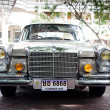 HUHIN - DECEMBER 19: Mercedes Benz on Vintage Car Parade 2009 — Stock Photo #9310968