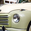 HUA HIN - DECEMBER 19: Part of Green Car on Vintage Car Parade 2 - Stockfoto