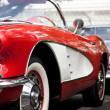 Stock Photo: HUHIN - DECEMBER 19: Chevrolet Corvette Convertible, 1960. Vin