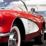 HUA HIN - DECEMBER 19: Chevrolet Corvette Convertible, 1960. Vin — Stock Photo