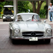 Stock Photo: HUA HIN - DECEMBER 19: Mercedes on Vintage Car Parade 2009 at So