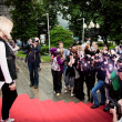 Постер, плакат: Lera Kudryavceva Premiere of Sex and the City 2