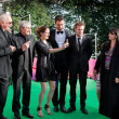 "Stock Photo: NikitMikhalkov, Claude Lelouch and actors of movie ""What L"