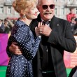 Постер, плакат: Nikita Mikhalkov and Russian actress Renata Litvinova