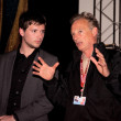Director Ken McMullen and actor Sam McMullen - Stock Photo
