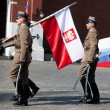 Stock Photo: Poland troops
