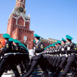 Participants of the Military Parade - Stock Photo