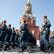 Russian Civil Defense Ministry's Civil Defense Academy cadets — Stockfoto