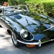 Jaguar E-Type on Vintage Car Parade — Stock Photo