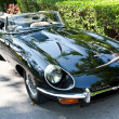 Постер, плакат: Jaguar E Type on Vintage Car Parade