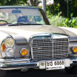Stock Photo: Mercedes-Benz SE Coupe on Vintage Car Parade