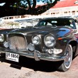 Jaguar 420 G  on Vintage Car Parade - Stock Photo