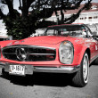 Stock Photo: Mercedes Benz SL Pagode on Vintage Car Parade
