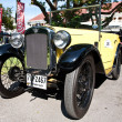 Austin 7 convertible on Vintage Car Parade - Stock Photo
