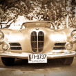 bmw 503 on vintage car parade — Stock Photo