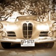 BMW 503 on Vintage Car Parade - Stock Photo
