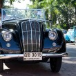 Morris Eight Series E on Vintage Car Parade - Foto Stock