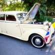 Mercedes Benz 170 S on Vintage Car Parade - Stock Photo