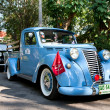 Fiat 1100 on Vintage Car Parade - Stock Photo