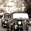 Retro cars — Stockfoto #9317614