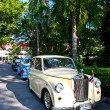 Stock Photo: Triumph Mayflower on Vintage Car Parade