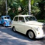 Morris Eight Series E on Vintage Car Parade — Stock Photo