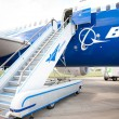 Stock Photo: NEW BOEING 787