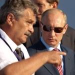 Vladimir Putin Prime Minister of Russia — Stock Photo #9319413