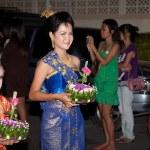 Loy Krathong festival — Stock Photo #9319712
