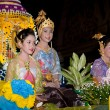 Loy Krathong festival — Stock Photo #9319778