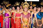 Loy Krathong festival. — Stock Photo