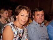 Hija de yeltsin tatyana yumasheva ingenio de ex presidente boris — Foto de Stock